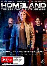 HOMELAND-Season 6-Region 4-New AND Sealed-4 Disc Set-TV Series