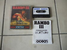 commodore  c 64 128 c64 c128 Rambo III 3