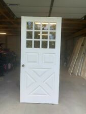 "Antique Farmhouse Door With Windows 36""x 79 3/4"""