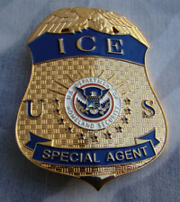 U.S.A Immigration and customs ICE Metal badges