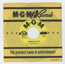 Sam (The Man) Taylor 1957 MGM 45rpm Drummer Boy Blues b/w Look Up