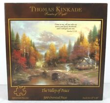 The Valley Of Peace Thomas Kinkade Jigsaw Puzzle Vintage 1998 New, 500 Pieces