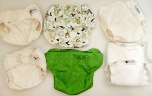 Modern Cloth Nappies Bundle Mix Baby BeeHinds Mother Ease And Flip Waterproof...