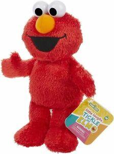 Sesame Street Little Laughs Tickle Me Elmo, Talking, Laughing 10-Inch Plush