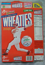 MARK MCGWIRE ST LOUIS CARDINALS 70 HOME RUNS 1998 WHEATIES CEREAL BOX