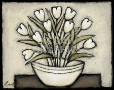 With Hugs and Kisses by Eve Shpritser Art Print Floral Poster 26x32