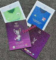 UEFA Womens Champions League Final Programme 2020 WOLFSBURG v LYON!READY TO POST
