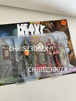 Heavy Metal 300th Issue Commemorative Fig Biz Taarna + Nelson Figure Twin Pack