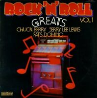 20 Rock'n'Roll Hits Chuck Berry, Jerry Lee Lewis, Fats Domino.. [LP]