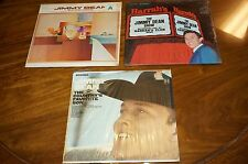 LOT OF 3 JIMMY DEAN Bumming Around, HARRAH'S, COUNTRY'S SON LP COUNTRY VOCAL EX