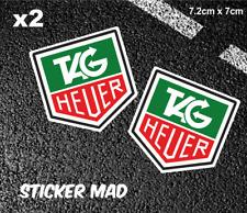 TAG HEUER Stickers High Quality 7cm F1 Classic McLAREN Williams Ferrari Lotus