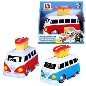 VW Camper Bulli Samba Press & Go Toy Car Children BB Junior