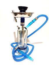 New Amsterdam® Hookah Shisha Narghile Chicha 750ml Vodka Glass Bottle Hand Made