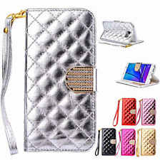 Luxury Magnet Flip Wallet Leather Card Case Cover For Samsung Galaxy S7 /S7 Edge