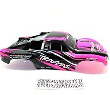Traxxas Slash Body Pink Black White Truck Decal 2wd VXL XL5 1/10