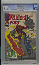 Fantastic Four #69 CGC 9.2 NM- Unrestored Marvel Mad Thinker OW/W Pages