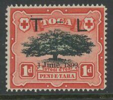 Tonga, Mint, #53, Og Lh, Sound, Great Centering