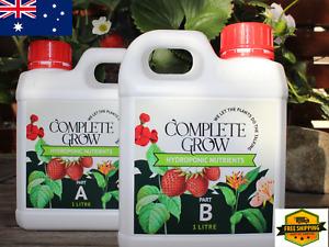 Liquid Fertiliser Plant Nutrient Part A Part B 1 litre each hydroponic nutrient