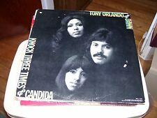 TONY ORLANDO & DAWN-KNOCK THREE TIMES & CANDIDA-LP-NM-BELL/CAPITOL-STEREO