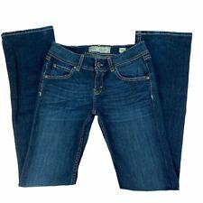 BKE Denim Jeans Size 26L Long Addison Bootcut Slim Fit Low Rise Womens