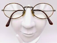 Vintage Giorgio Armani 242 1008 Tortoise Bronze Oval Sunglasses FRAMES ONLY