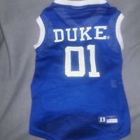 Pets First Duke Blue Devils Mesh Jersey  # 01 New without tags size large