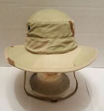 Desert Camouflage Camo Pattern Boonie Floppy Hat Size Small 6 3/4