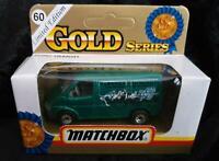 MATCHBOX FORD TRANSIT TARONGA ZOO MOBILE GOLD SERIES Ltd Ed NEW in UNOPENED BOX