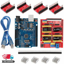 CNC V3 Shield UNO R3 Board A4988 Stepper Driver Motor für Arduino 3D Drucker kit