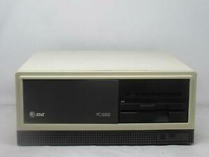 VINTAGE AT&T PC 6300 PERSONAL COMPUTER DESKTOP COMPUTER 8086 TESTED! FREE SHIP!