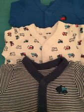Baby Boy Sleep Suit Bundle M&S Size 3 To 6 Months