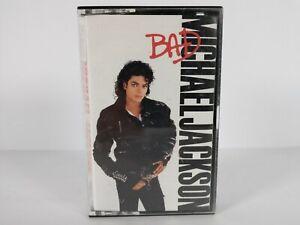 Michael Jackson Bad Cassette Tape