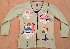 """Storybook Knits """"Favorite Doll"""" Cardigan Sweater - BRAND NEW"""