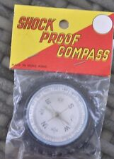 Shock Proof Compass - Rubber Tire Shaped - Vintage Hong Kong