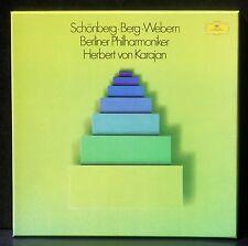 Schönberg Berg Webern Karajan BX NM, LP M.