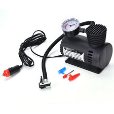 12V Portable Mini Air Compressor 300 PSI Bike Car Tyre Inflator Pump CigaretteWC