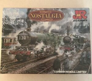 STEAM ENGINES, 500 PIECE JIGSAW PUZZLE, Cornish Riviera Limited NEW & SEALED