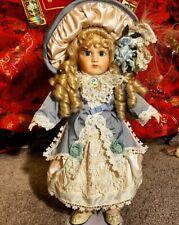 Maryse Nicole Victorian Antique Reproduction Porcelain Doll Vintage 1990