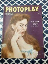 Photoplay Magazine January 1956 Jeanne Crain