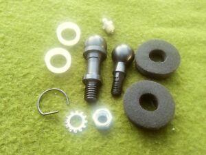 CHEVY II NOVA Manual Trans Clutch Bell Crank Z Bar Shaft Ball Bushing Kit 10pcs