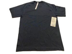 Lululemon Metal Vent Tech SS NWT $78 Size M NUNY/NUNY Navy Blue Short Sleeve Tee