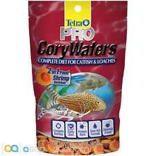 Tetra Pro Cory Wafers 2.12oz (60g) Fish Food Loaches Catfish Complete Diet Wafer