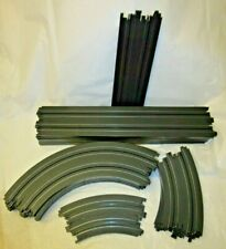 Aurora AFX Tomy Lot 21 Track Pieces, Straight & Radius Curve Banked Curve