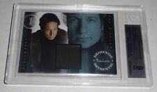 2008 X-Files I Want to Believe Pieceworks Shown Worn Item BGS 9 Mint Card IWTB