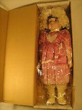 "*New* 16"" Porcelain Doll 1987 The Heirloom Treasure Brunette [Y118]"
