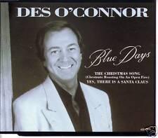 DES O'CONNOR Blue Days w/ 2 UNRLEASE CHRISTMAS TRX CD