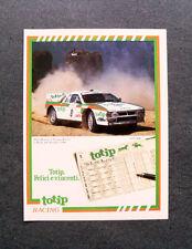 [GCG] L215- Advertising Pubblicità -1984- TOTIP RACING , M. BIASION T. SIVIERO