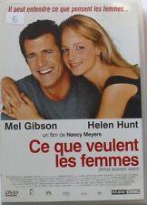 DVD CE QUE VEULENT LES FEMMES - Mel GIBSON / Helen HUNT
