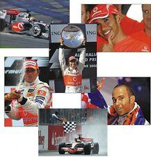 Lewis Hamilton F1 Legend World Champion Postcard Set