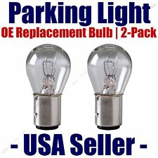 Parking Light Bulb 2-pack - OE Replacement Fits Listed Fiat Vehicles - 1016